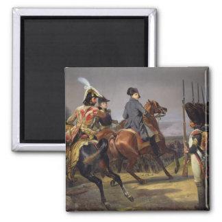 La batalla de Iena, el 14 de octubre de 1806, 1836 Imán Cuadrado