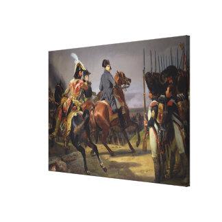 La batalla de Iena, el 14 de octubre de 1806, 1836 Impresiones En Lona Estiradas