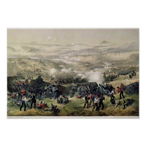 La batalla de Inkerman, el 5 de noviembre de 1854, Poster