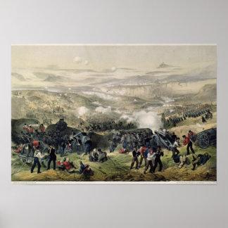 La batalla de Inkerman, el 5 de noviembre de 1854, Póster