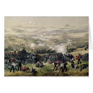La batalla de Inkerman, el 5 de noviembre de 1854, Tarjetón
