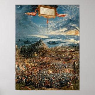 La batalla de Issus Poster