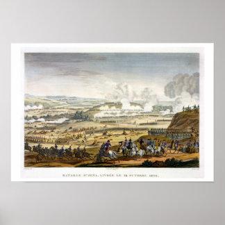 La batalla de Jena, el 14 de octubre de 1806, grab Poster