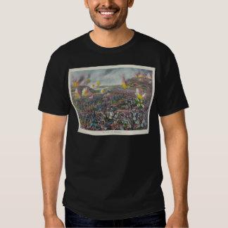 La batalla de la guerra japonesa 1904 de Liaojang Camisas