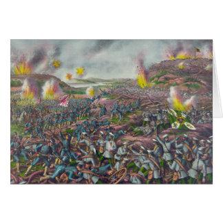 La batalla de la guerra japonesa 1904 de Liaojang  Tarjeta De Felicitación