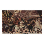 La batalla de la parte II del romano de San Póster