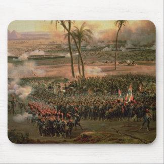 La batalla de las pirámides, el 21 de julio de 179 alfombrillas de ratones