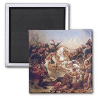La batalla de las pirámides, el 21 de julio de 179 imán