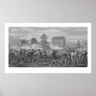 La batalla de Lexington Póster