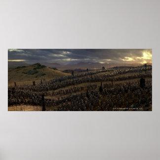 La batalla de los campos de Pelennor Póster