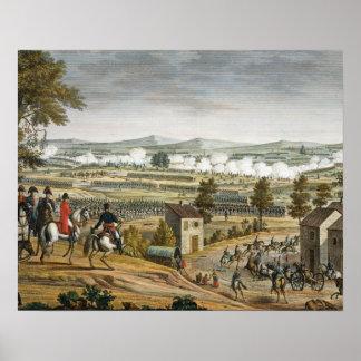 La batalla de Lutzen, el 2 de mayo de 1813, grabad Póster