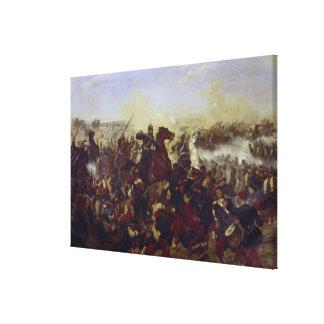 La batalla de Marte de la Tour Lienzo Envuelto Para Galerias
