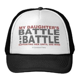 La batalla de mi hija gorros bordados