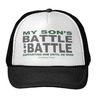 La batalla de mi hijo gorro