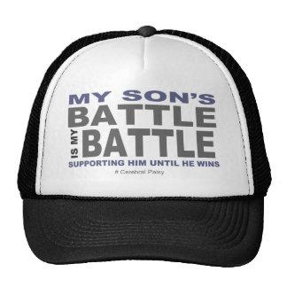 La batalla de mi hijo gorros