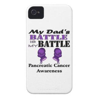 La batalla de mi papá es mi batalla, cáncer funda para iPhone 4