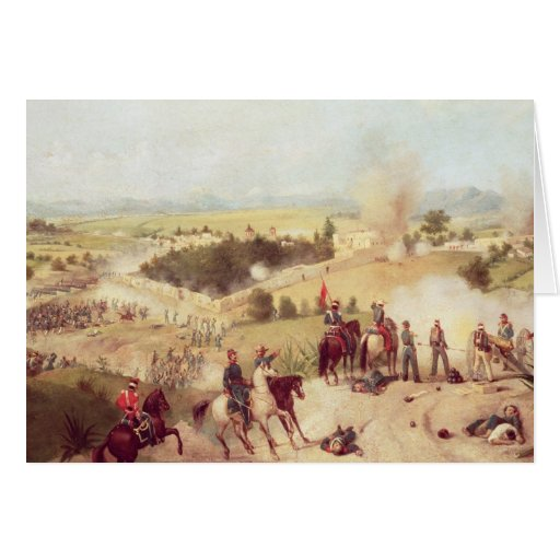 La batalla de Molino del Rey, el 8 de septiembre d Tarjetas