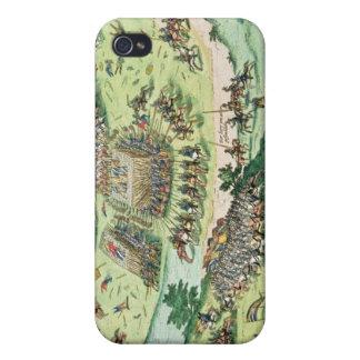 La batalla de Moncontour, el 3 de octubre de 1569 iPhone 4/4S Funda