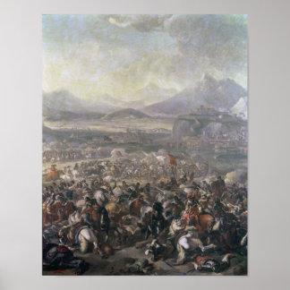 La batalla de Montjuic, el 16 de enero de 1641 Póster