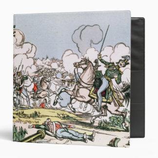 """La batalla de Moscú, el 7 de septiembre de 1812 Carpeta 1 1/2"""""""