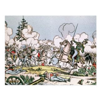 La batalla de Moscú, el 7 de septiembre de 1812 Postal