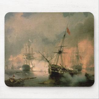 La batalla de Navarino el 20 de octubre de 1827 Alfombrilla De Ratones