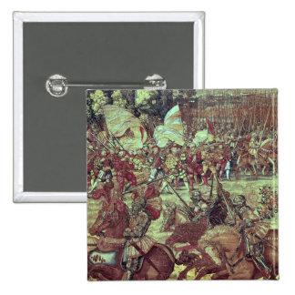 La batalla de Pavía, el 24 de febrero de 1525 Pin Cuadrado
