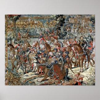 La batalla de Pavía Posters