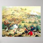 La batalla de Puebla, el 5 de mayo de 1862 Póster