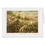 La batalla de Resaca de Kurz y de Allison 1864 Tarjeta De Felicitación