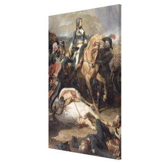 La batalla de Rivoli, 1844 Lienzo Envuelto Para Galerías
