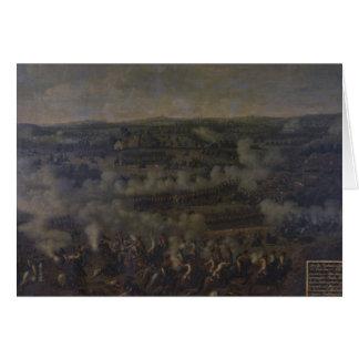 La batalla de Rossbach, 1757 Tarjeta De Felicitación