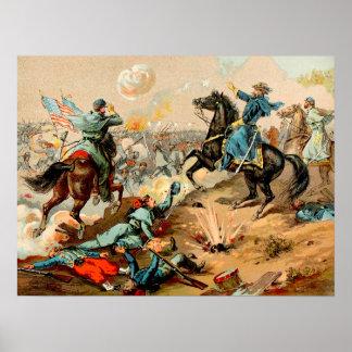 La batalla de Shiloh Póster