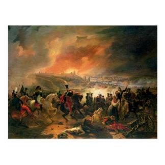 La batalla de Smolensk, el 17 de agosto de 1812, Postal