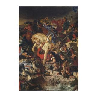 La batalla de Taillebourg, el 21 de julio de 1242, Impresiones En Lona