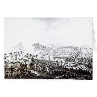 La batalla de Talavera de la Reina Tarjeta De Felicitación