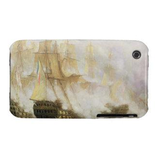 La batalla de Trafalgar, c.1841 (aceite en lona) iPhone 3 Protectores