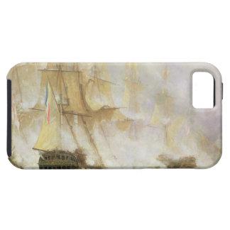 La batalla de Trafalgar, c.1841 (aceite en lona) iPhone 5 Carcasas