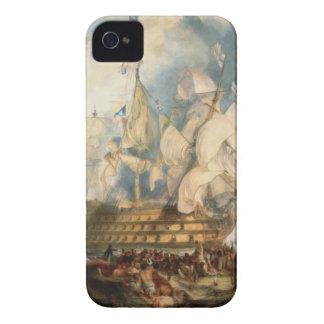 La batalla de Trafalgar de Guillermo Turner iPhone 4 Case-Mate Carcasa