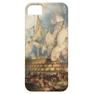 La batalla de Trafalgar de Guillermo Turner iPhone 5 Carcasa