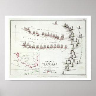 La batalla de Trafalgar, el 21 de octubre de 1805, Póster