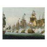 La batalla de Trafalgar, el 21 de octubre de 1805, Postal