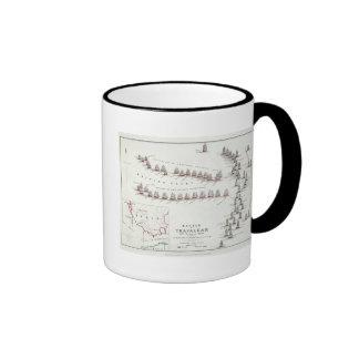 La batalla de Trafalgar, el 21 de octubre de 1805, Tazas De Café