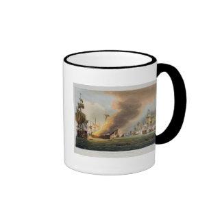 La batalla de Trafalgar, el 21 de octubre de 1805, Taza De Café