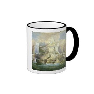 La batalla de Trafalgar, el principio del Acti Taza De Café