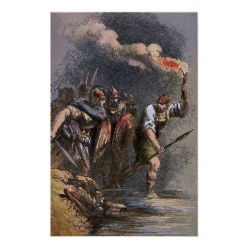 La batalla de Veii Póster