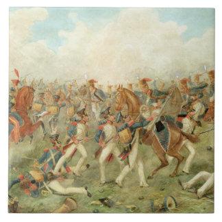 La batalla de Vitoria, el 21 de junio de 1813 (w/c Azulejo Ceramica