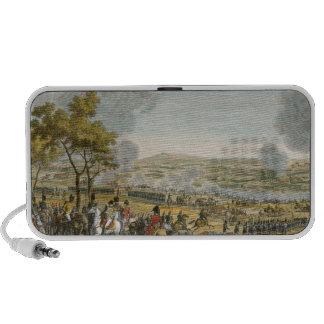 La batalla de Wagram, el 7 de julio de 1809, graba Notebook Altavoces