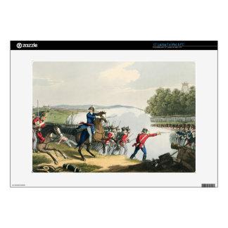 La batalla de Waterloo decidía por el duque del po Skins Para Portátil