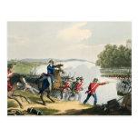 La batalla de Waterloo decidía por el duque del po Tarjetas Postales